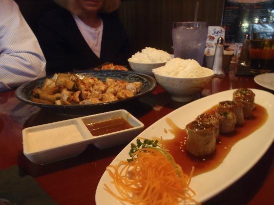 Kobe Restaurant Plymouth Menu