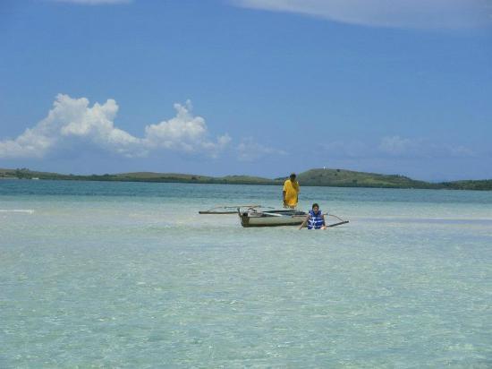 Matukad Island: the sandbar at it's best