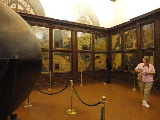 The map room - Picture of Palazzo Vecchio, Florence - TripAdvisor