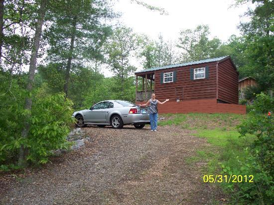 Murphy, Carolina del Norte: Cozy Cabin at Wagonmaster Ranch