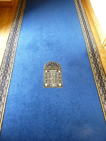 The Townhouse : Landing carpet