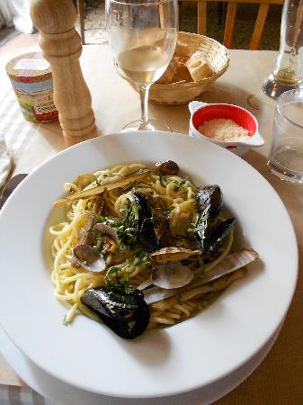 La Morue: spaghetti aux fruits de mer