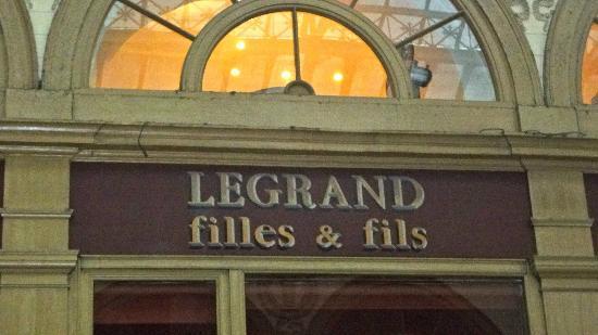 Legrand Filles et Fils: Entrance to Legrand