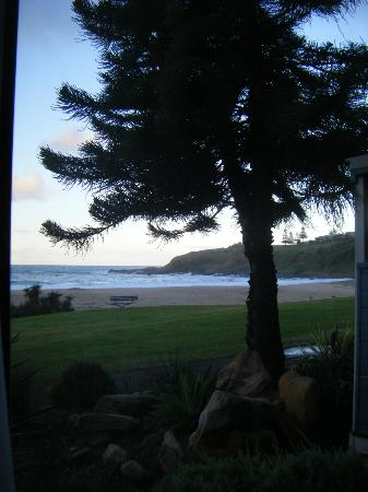 Kendalls on the Beach Holiday Park : View from side window in lounge room