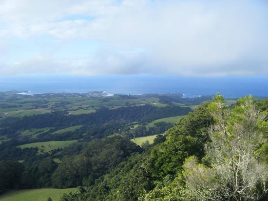 Kendalls on the Beach Holiday Park: Kiama from Saddleback Mountain ~