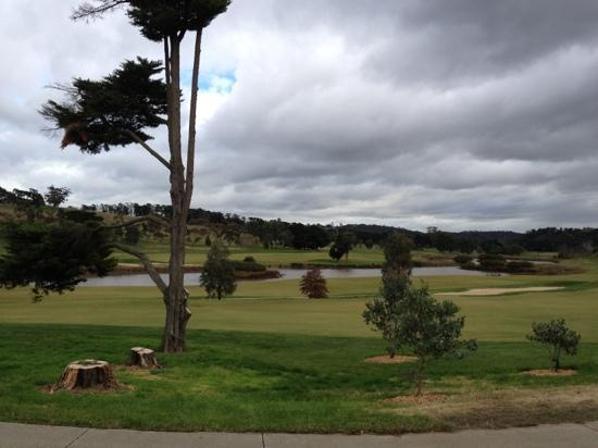Yarra Valley Lodge: beautiful golf course