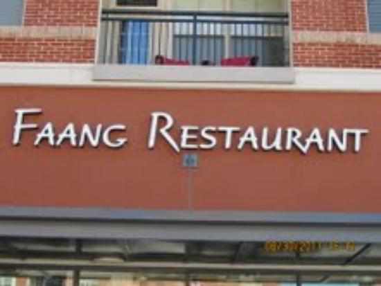 Faang Sushi and Thai Restaurant: main entrance