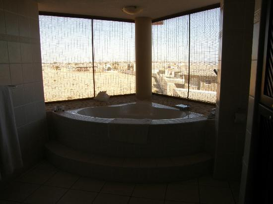 Atlantic Villa Boutique Guesthouse: vue de la baignoire