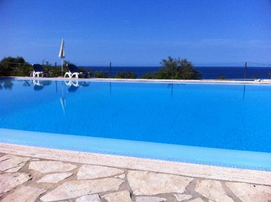 Villa Palamara 1868 : La piscine à débordement