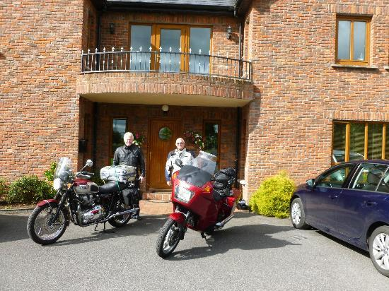 Oranhill Lodge: sadly getting ready to ride south