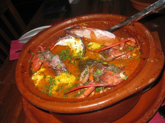 AguaDulce: Lobster Paella