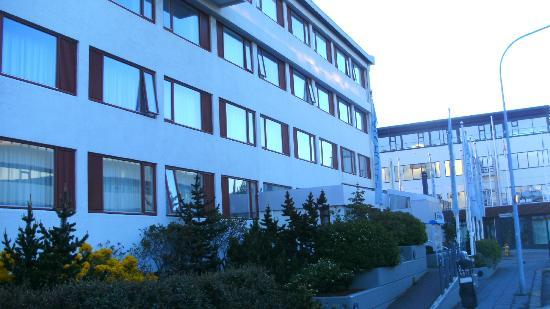 Fosshotel Lind: Außenansicht