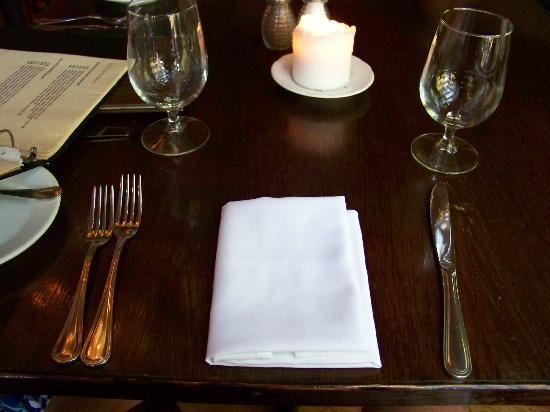 Peekamoose Restaurant: setting