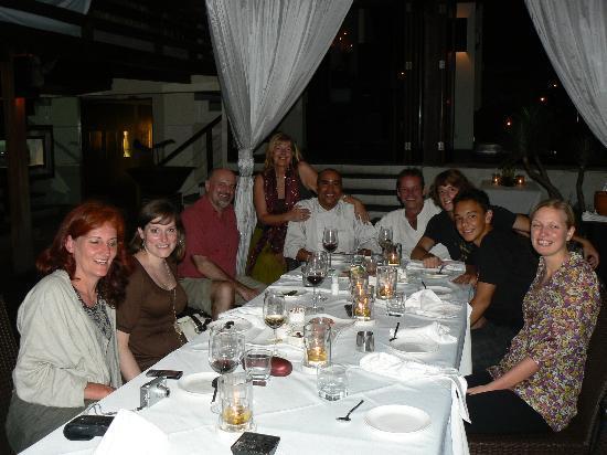 Amazing evening with dear friends at Hu'u Bar