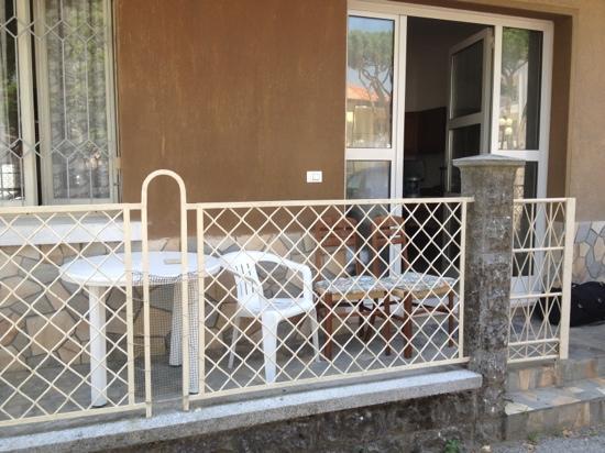 Hotel Capri : accesso appartamento