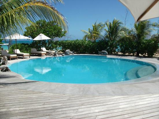 Denis Private Island Seychelles: The small pool