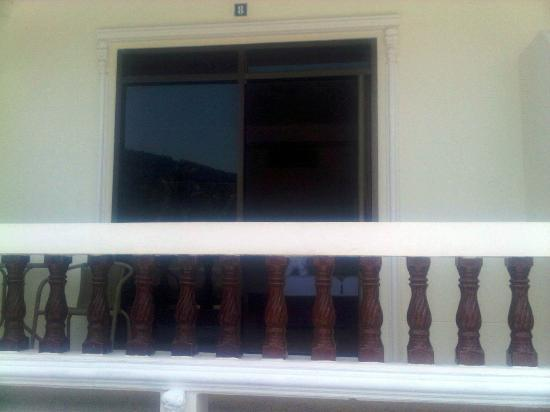 Tropical Palm Resort: Balcony
