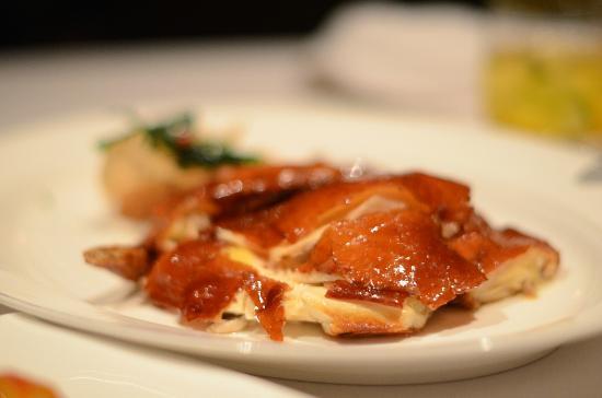 Lung King Heen roast chicken