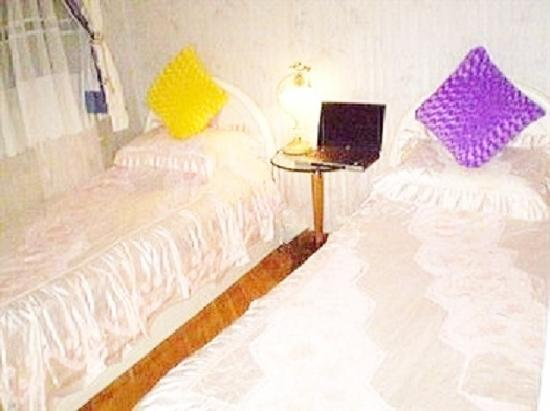 Lucky Hostel : Twin Beds Room