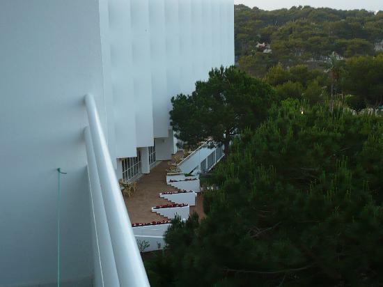 Globales Mediterrani: Blick vom Balkon