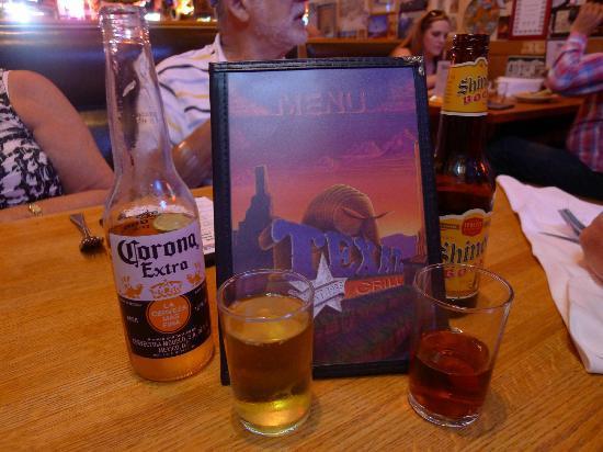 TEXAZ Grill: Menu & beer