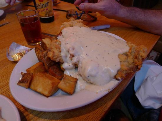 TEXAZ Grill: Chicken Fried Steak & Texas Fries