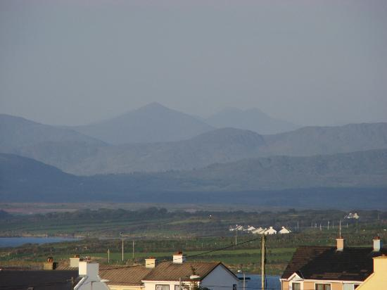 Portmagee Heights: Kerry peaks from the house
