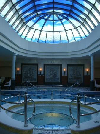 Althoff Seehotel Ueberfahrt: Domed spa