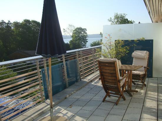 Althoff Seehotel Ueberfahrt: Room balcony