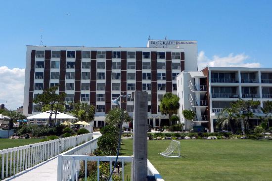 Blockade Runner Beach Resort View From
