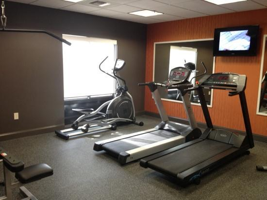 Holiday Inn Express & Suites Huntsville Airport: Fitness Room