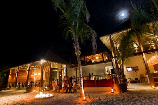 CocoMaya dining, beach and firepit