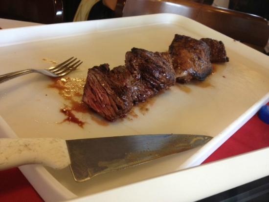 """Barranco: Delicious """"Vazio"""" beef cut for """"1 person"""""""