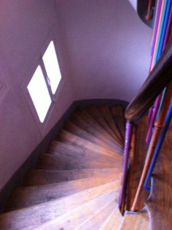 Hotel Tolbiac : Escalera