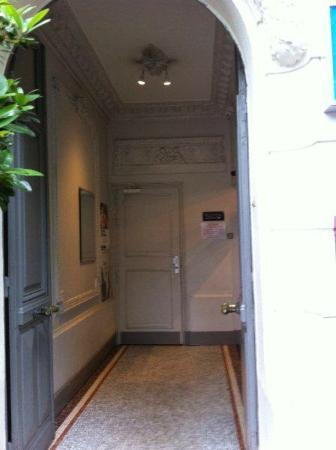 Hotel Tolbiac : Entrada