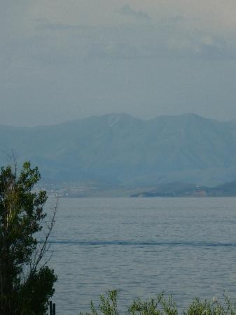 TUI FAMILY LIFE Kerkyra Golf: Albania from bedroom