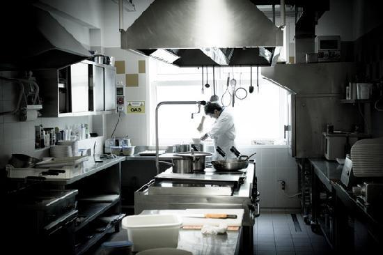 All'Orologio: cucina