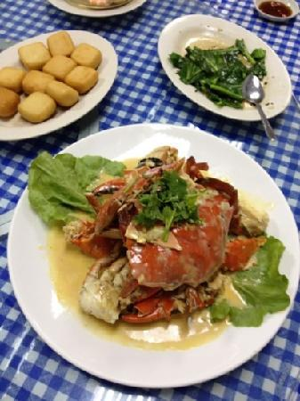 Crab Delicacy Seafood: cream butter crabs