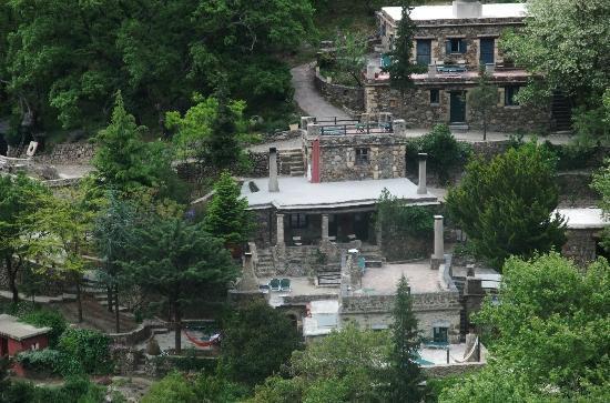 Milia Mountain Retreat: Här bodde vi.