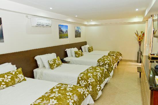 Hotel Poblado Boutique Medellin: Habitación Clásica 4 camas
