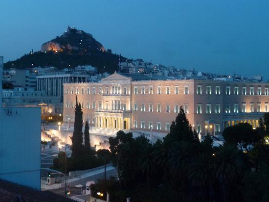 Amalia Hotel: vue de la chambre