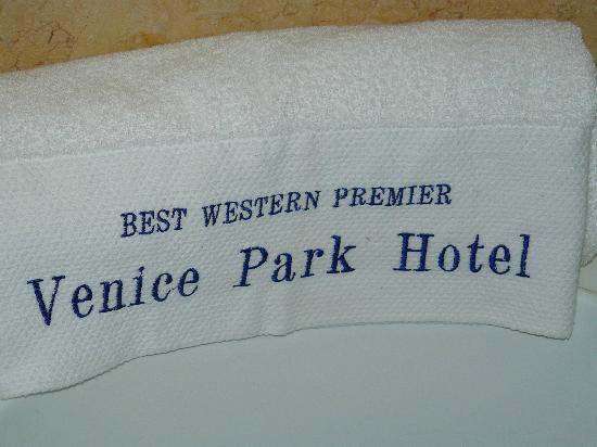 Venice Park Hotel: Towel