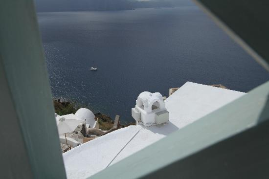 Old Oia Houses: View from Old Oia Guest House