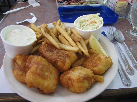 Alice's Country House : Cod Fish and Chips