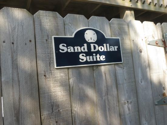 Sand Dollar Motel: suite