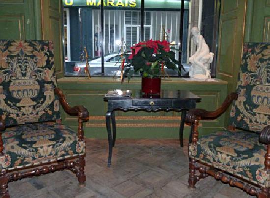 Vieux Marais : Notre salon