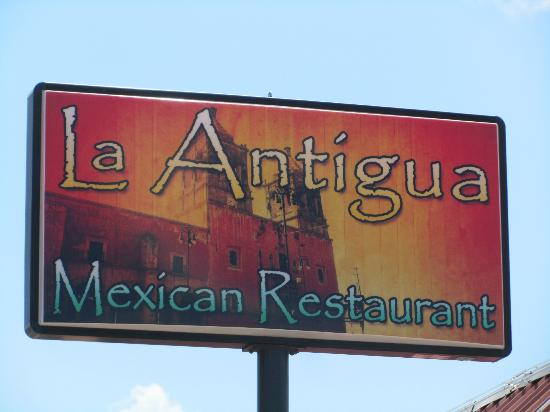 La Antigua: Photo of their new sign with New Name