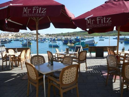 Mr. Fitz: view from our table