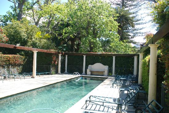Constantia Uitsig Country Hotel: Pool