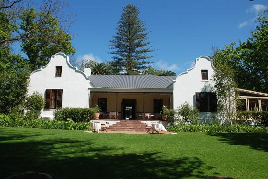 Constantia Uitsig Country Hotel: Main hotel